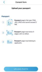 AOT パスポート写真アップロード