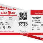 ThaiLion Boarding Pass